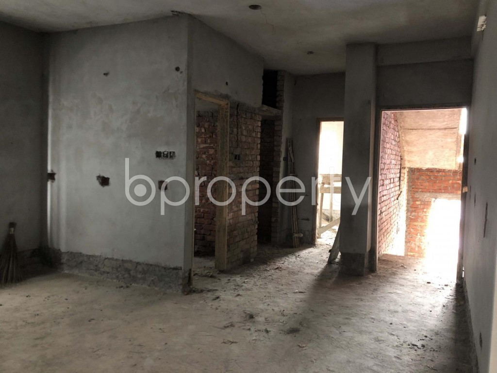 Empty Room - 2 Bed Apartment for Sale in Adabor, Dhaka - 1920543