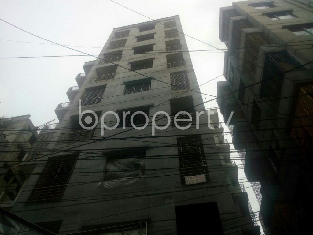 Front view - 3 Bed Apartment for Sale in Rampura, Dhaka - 1927501