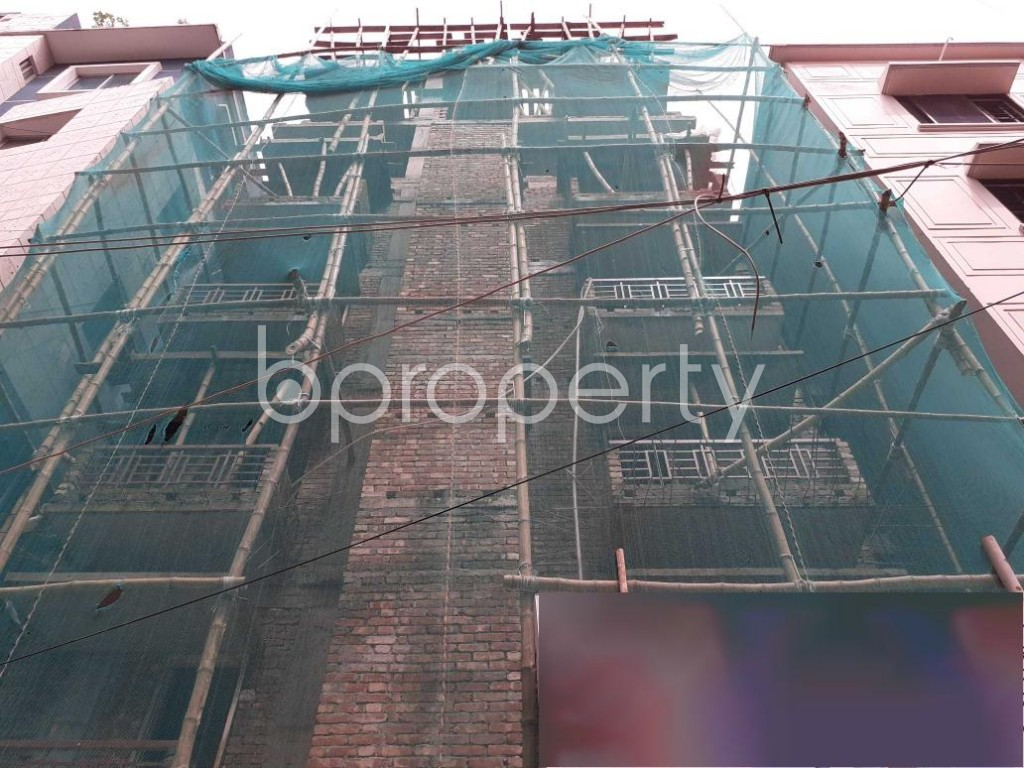 Front view - 3 Bed Apartment for Sale in Mohammadpur, Dhaka - 1927597