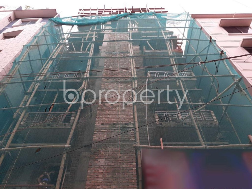 Front view - 3 Bed Apartment for Sale in Mohammadpur, Dhaka - 1927598