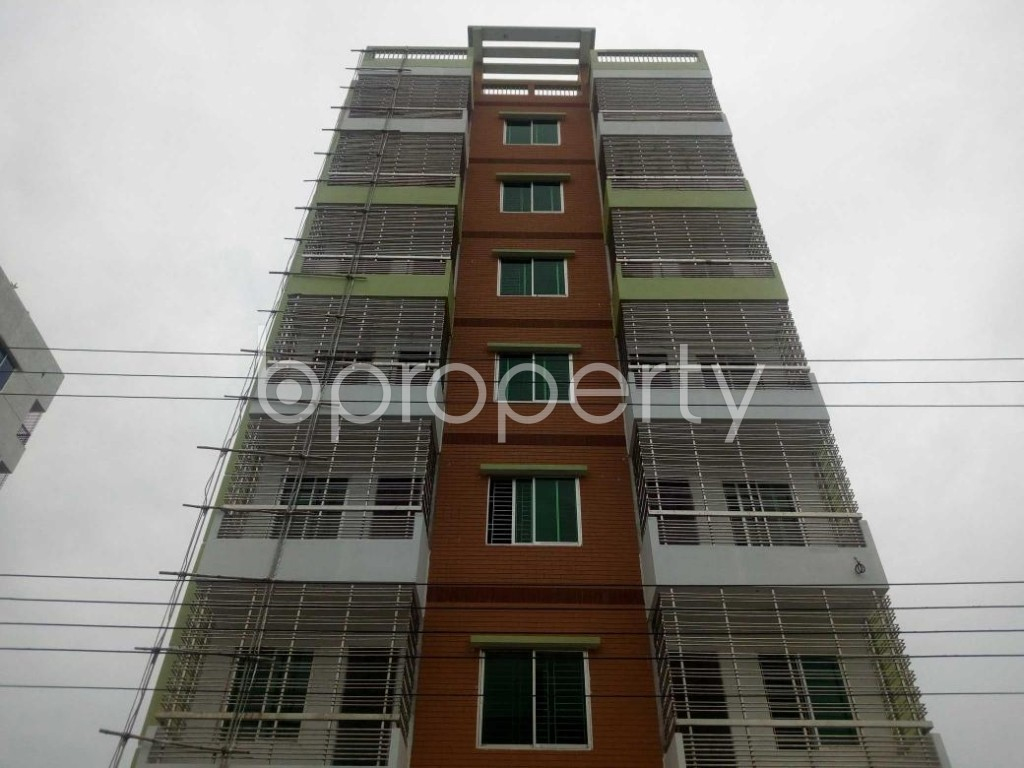 Front view - 2 Bed Apartment to Rent in Aftab Nagar, Dhaka - 1927614
