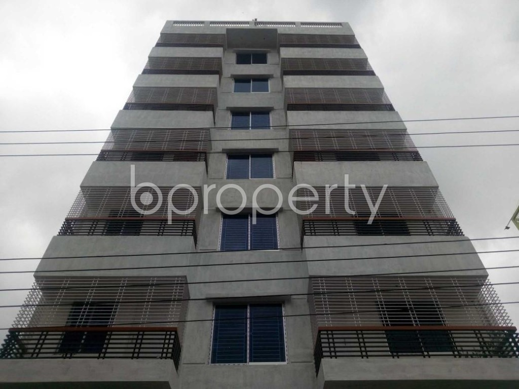 Front view - 2 Bed Apartment to Rent in Aftab Nagar, Dhaka - 1927635