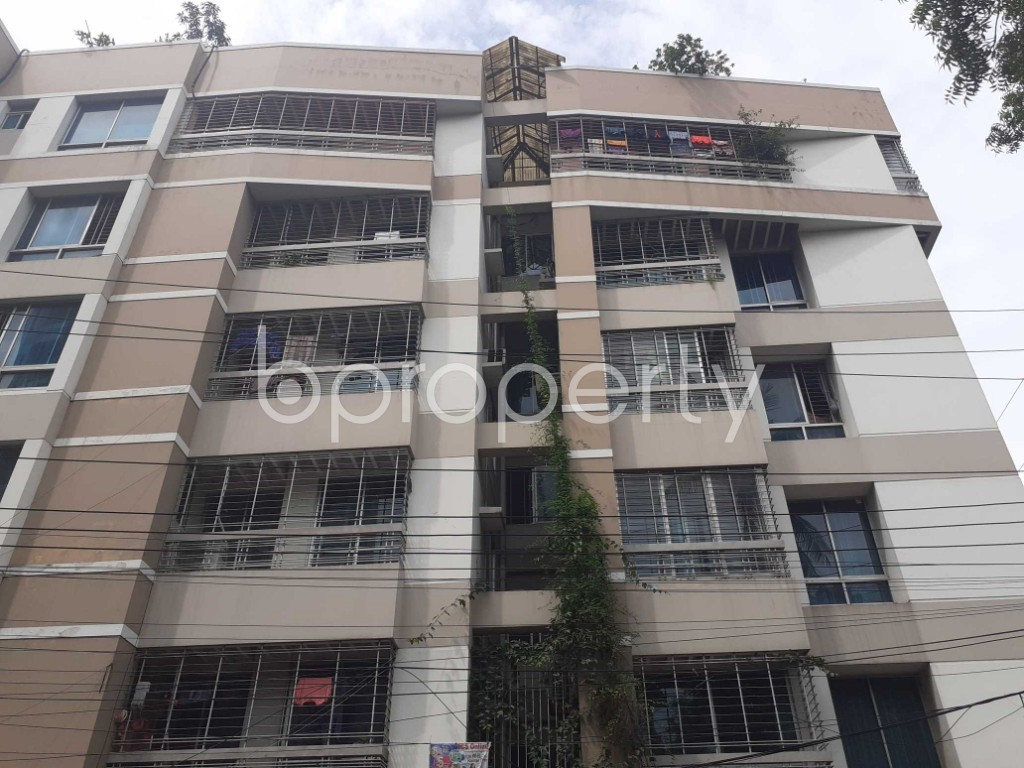 Front view - 3 Bed Apartment for Sale in Mohammadpur, Dhaka - 1927719