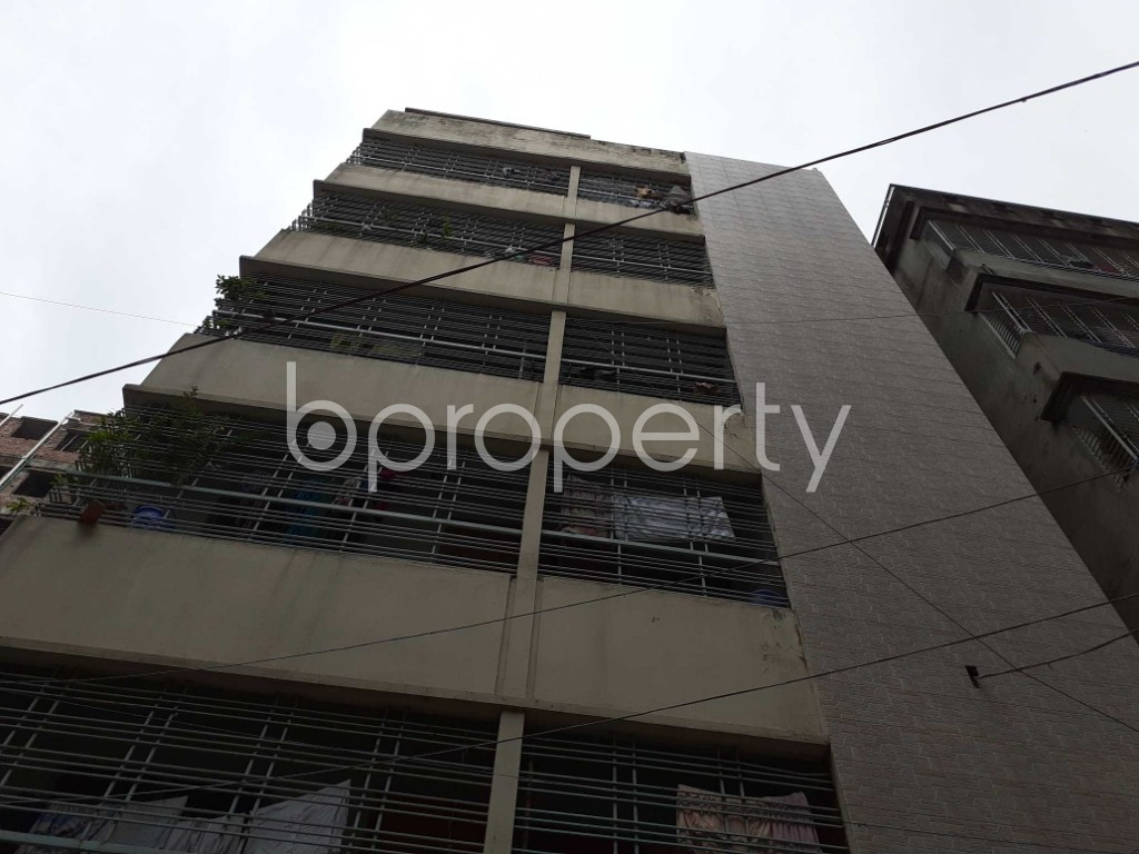 Front view - 3 Bed Apartment for Sale in Khilgaon, Dhaka - 1927878