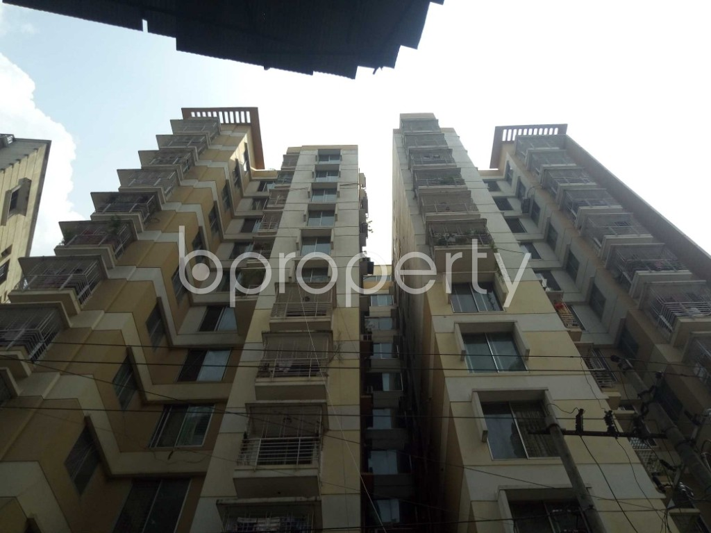 Outside view - 3 Bed Apartment for Sale in Maghbazar, Dhaka - 1928153
