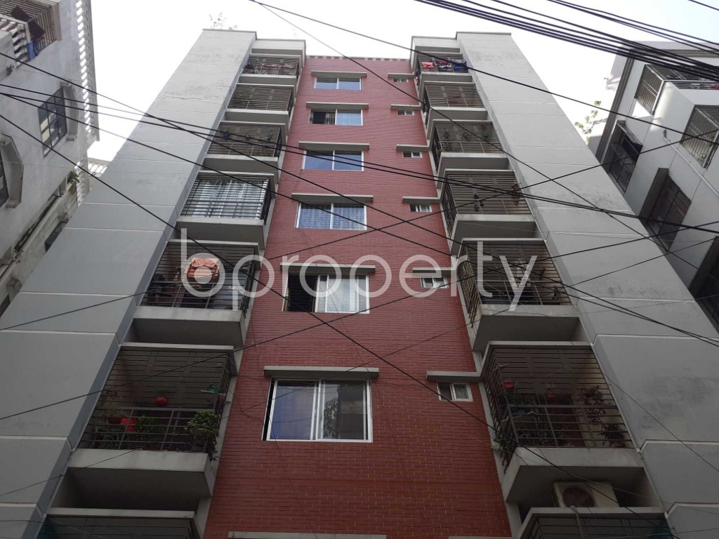 Front view - 3 Bed Apartment for Sale in Mohammadpur, Dhaka - 1928289