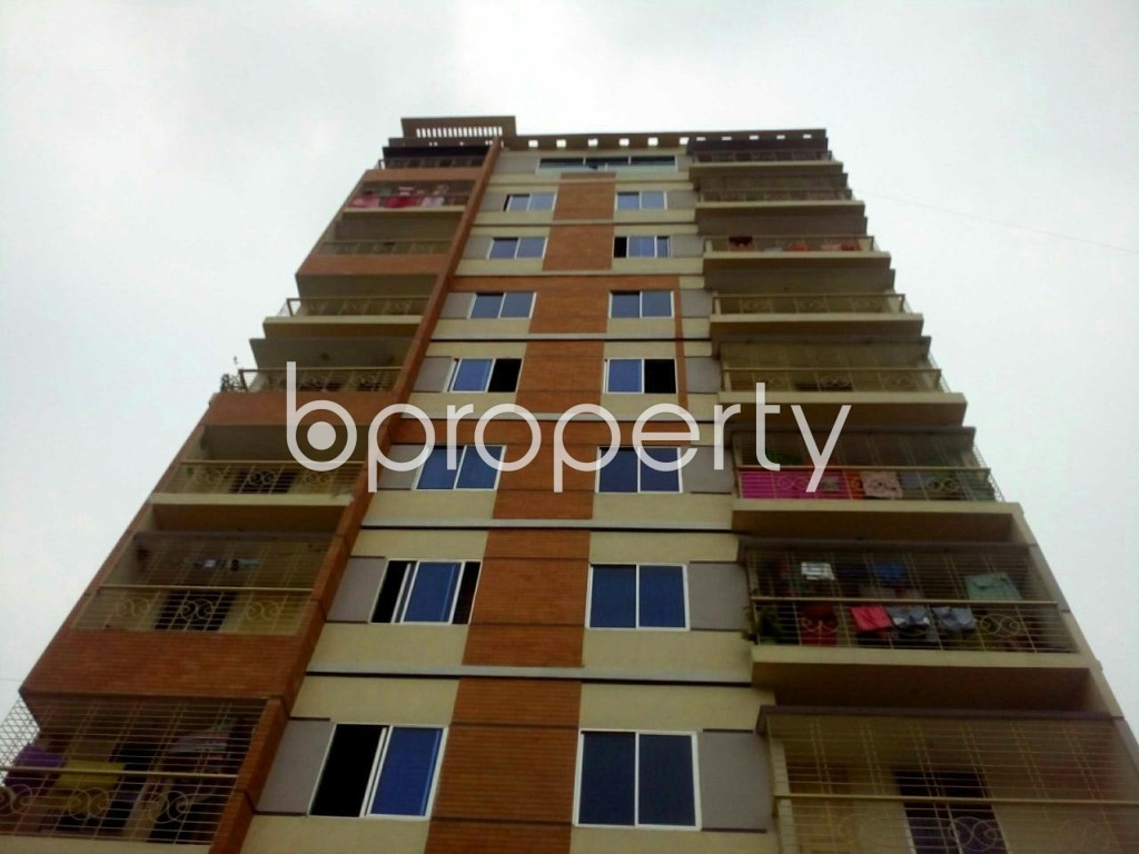 Front view - 3 Bed Apartment for Sale in Gazipur Sadar Upazila, Gazipur - 1928324