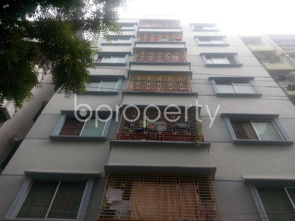 Front view - 3 Bed Apartment to Rent in Banasree, Dhaka - 1928079