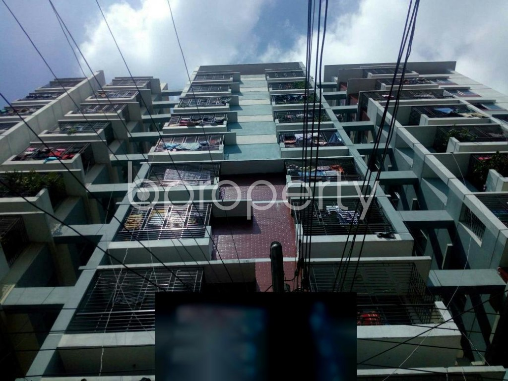 Front view - 3 Bed Apartment for Sale in Badda, Dhaka - 1928374