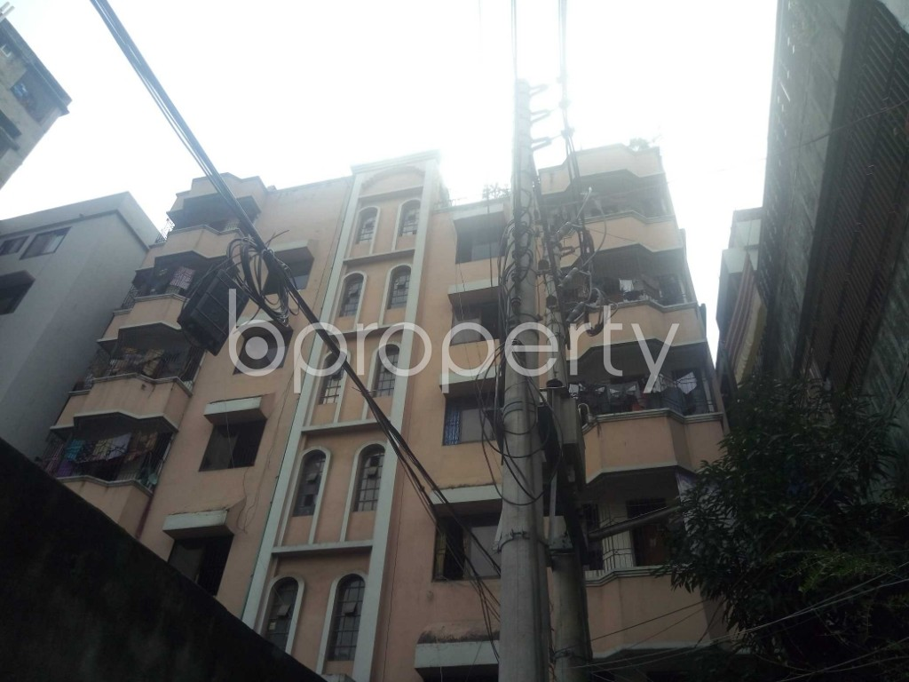 Outside view - 3 Bed Apartment for Sale in Maghbazar, Dhaka - 1928705