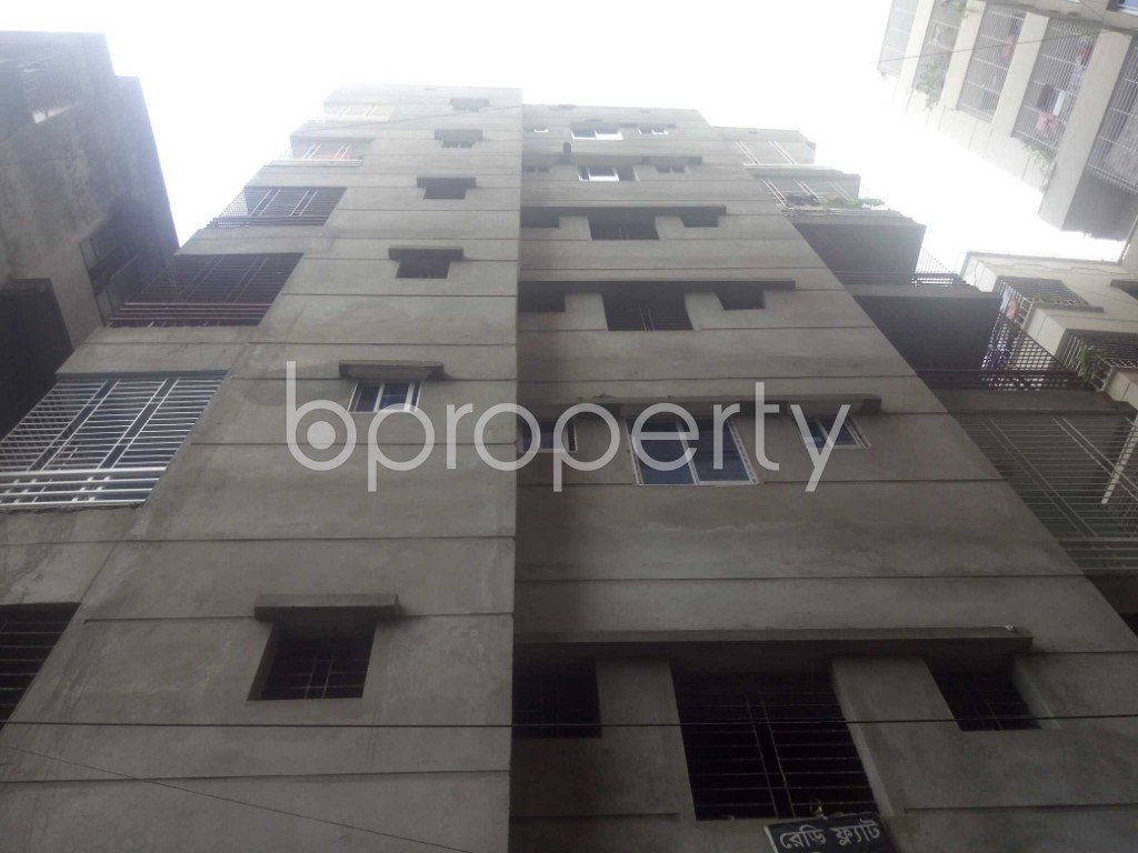 Outside view - 3 Bed Apartment for Sale in Maghbazar, Dhaka - 1928709