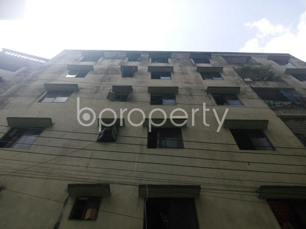 Front view - 3 Bed Apartment to Rent in Kalachandpur , Dhaka - 1928839