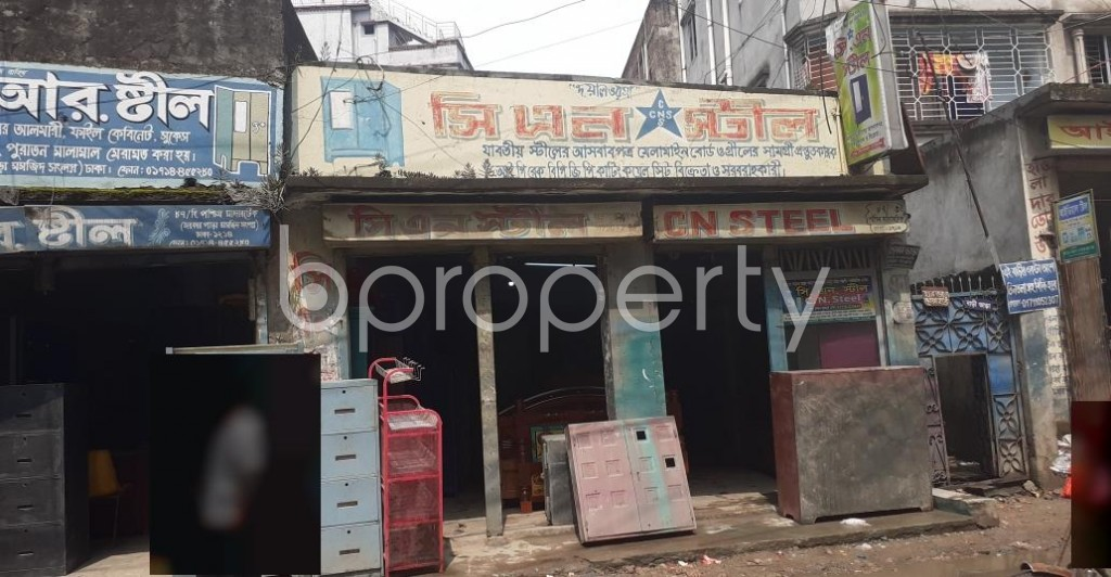 Outside view - Shop to Rent in Bashabo, Dhaka - 1928898