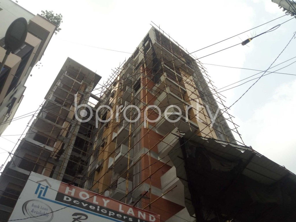Front view - 3 Bed Apartment for Sale in Uttara, Dhaka - 1928982
