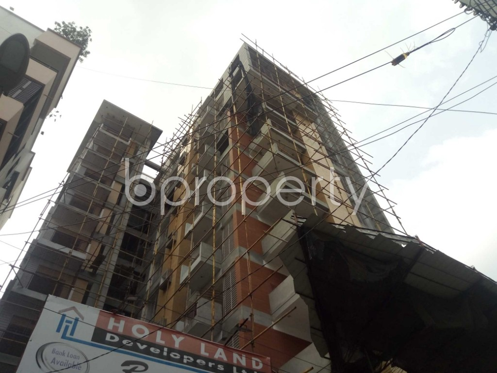 Front view - 3 Bed Apartment for Sale in Uttara, Dhaka - 1928983