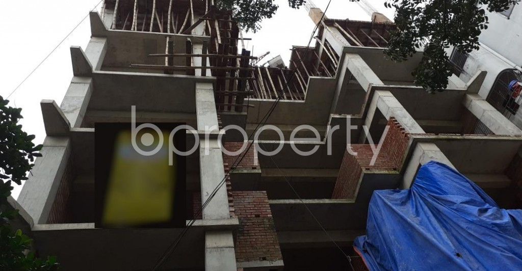 Front view - 4 Bed Apartment for Sale in Uttara, Dhaka - 1929018