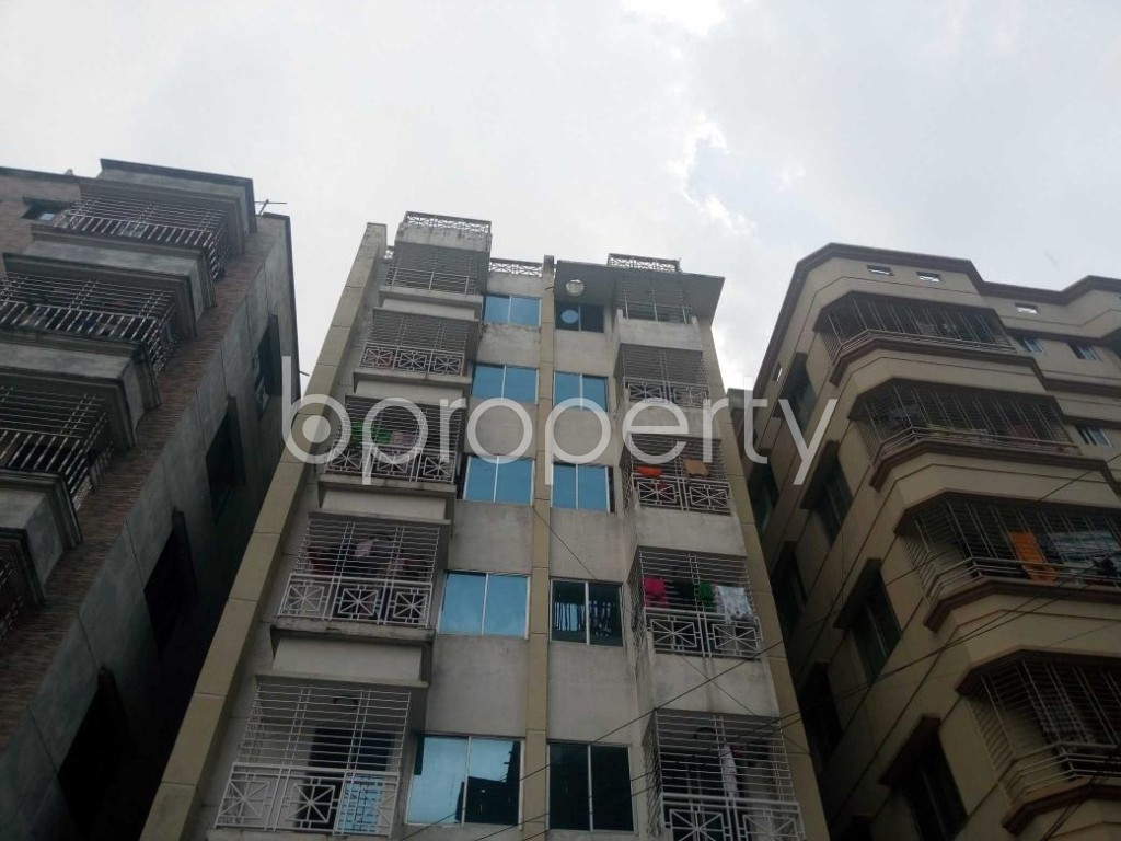 Front view - 3 Bed Apartment for Sale in Uttara, Dhaka - 1929066