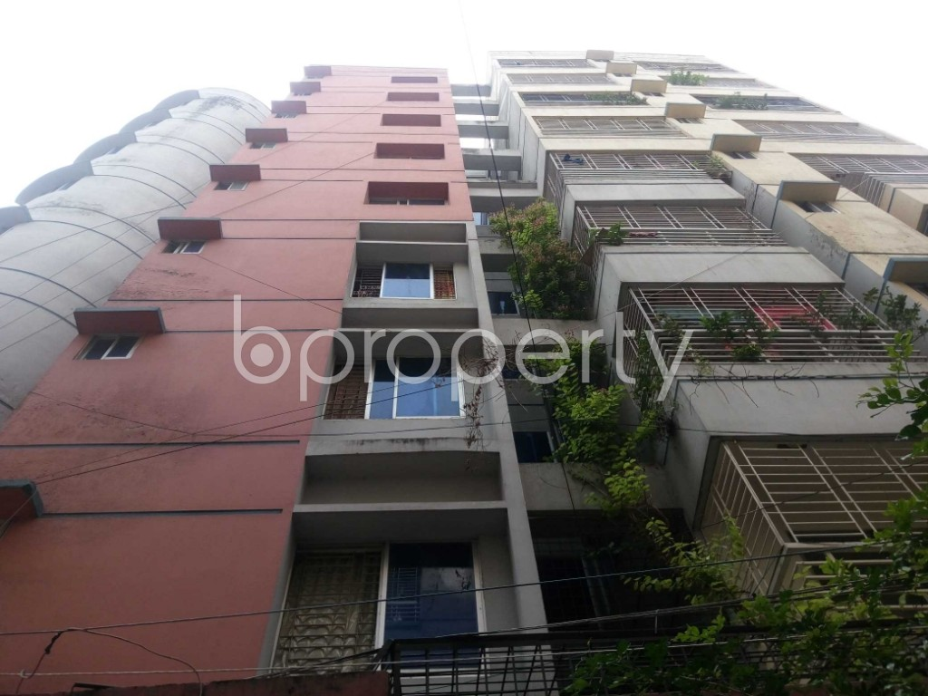 Front view - 3 Bed Apartment for Sale in Mirpur, Dhaka - 1929166