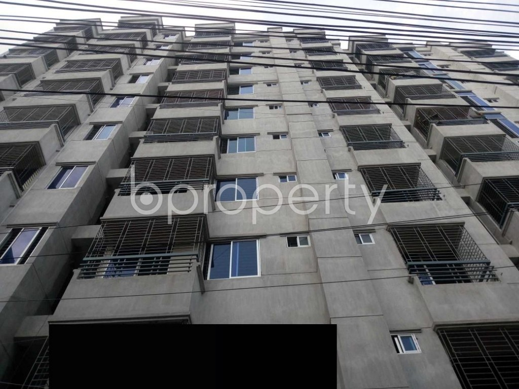 Front view - 3 Bed Apartment for Sale in Mirpur, Dhaka - 1929169