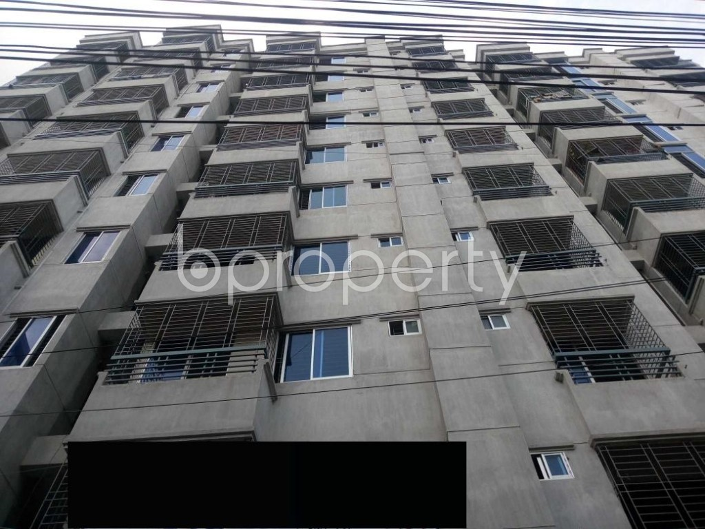 Front view - 3 Bed Apartment for Sale in Mirpur, Dhaka - 1929170