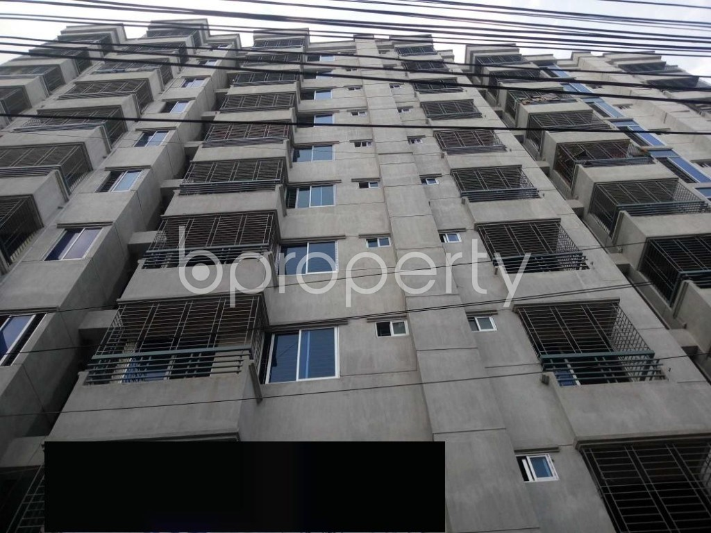 Front view - 3 Bed Apartment for Sale in Mirpur, Dhaka - 1929171