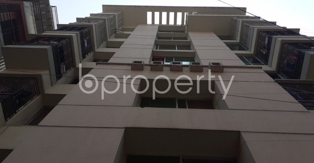 Outside view - 3 Bed Apartment to Rent in Lalmatia, Dhaka - 1929220