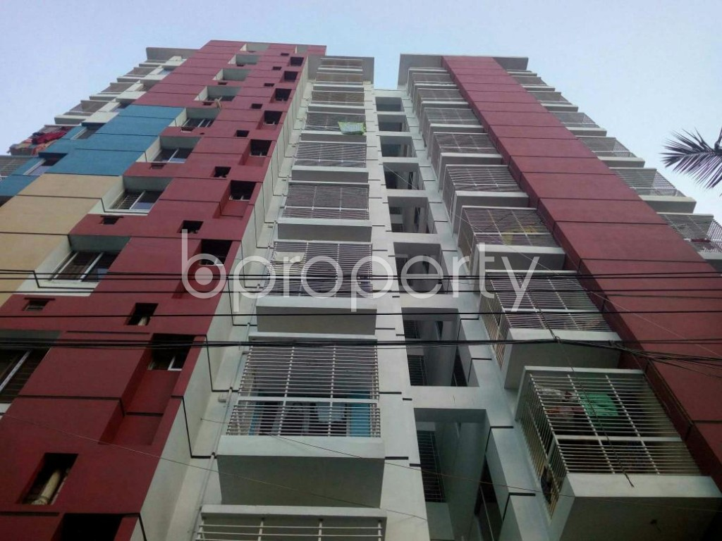 Front view - 3 Bed Apartment for Sale in Dakshin Khan, Dhaka - 1929295
