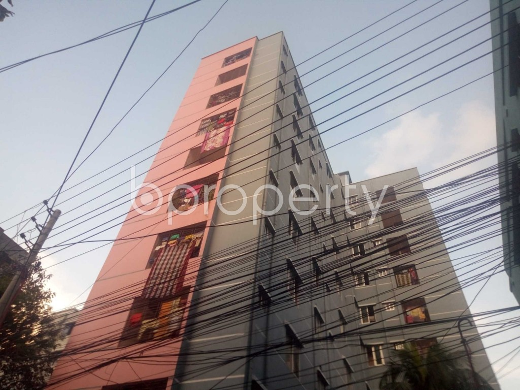 Outside view - 3 Bed Apartment for Sale in Maghbazar, Dhaka - 1929332