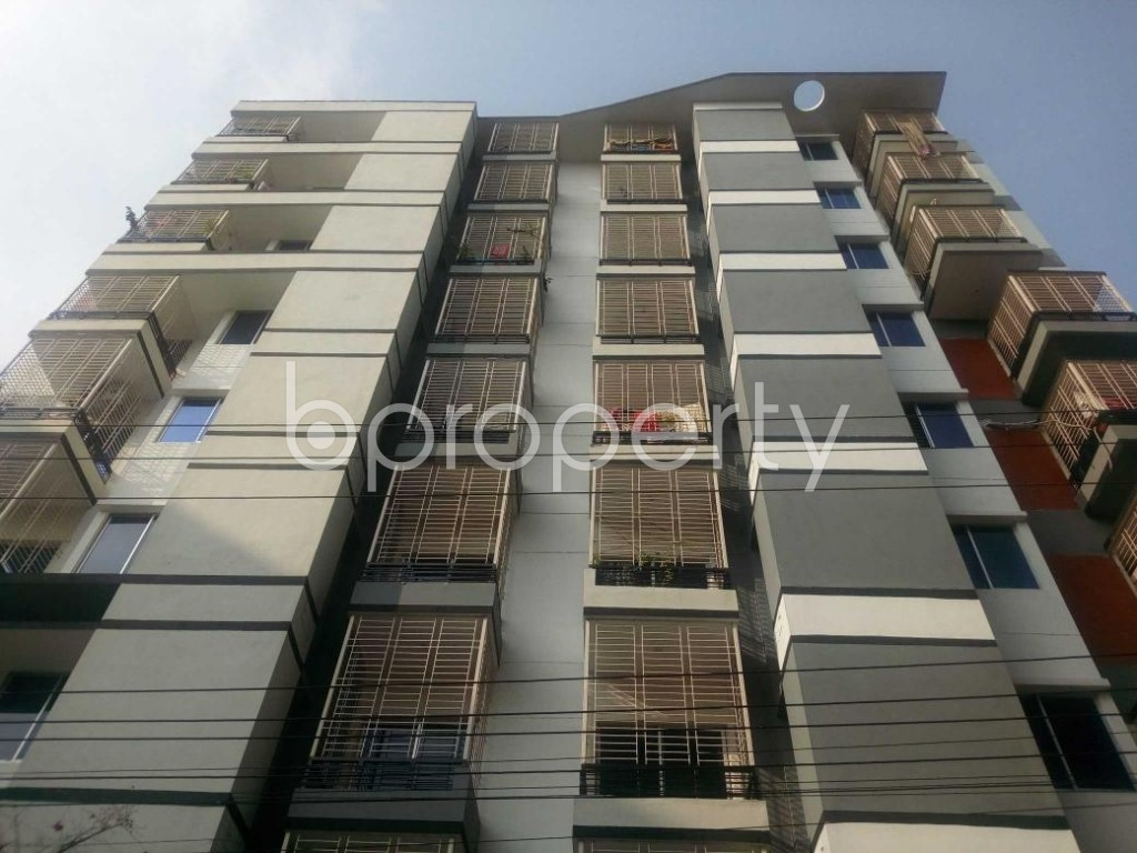 Front view - 3 Bed Apartment to Rent in Aftab Nagar, Dhaka - 1929368