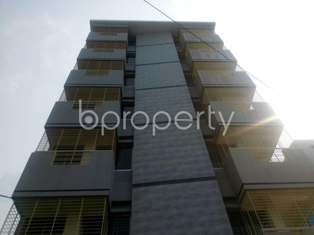 Front view - 3 Bed Apartment to Rent in Aftab Nagar, Dhaka - 1929374