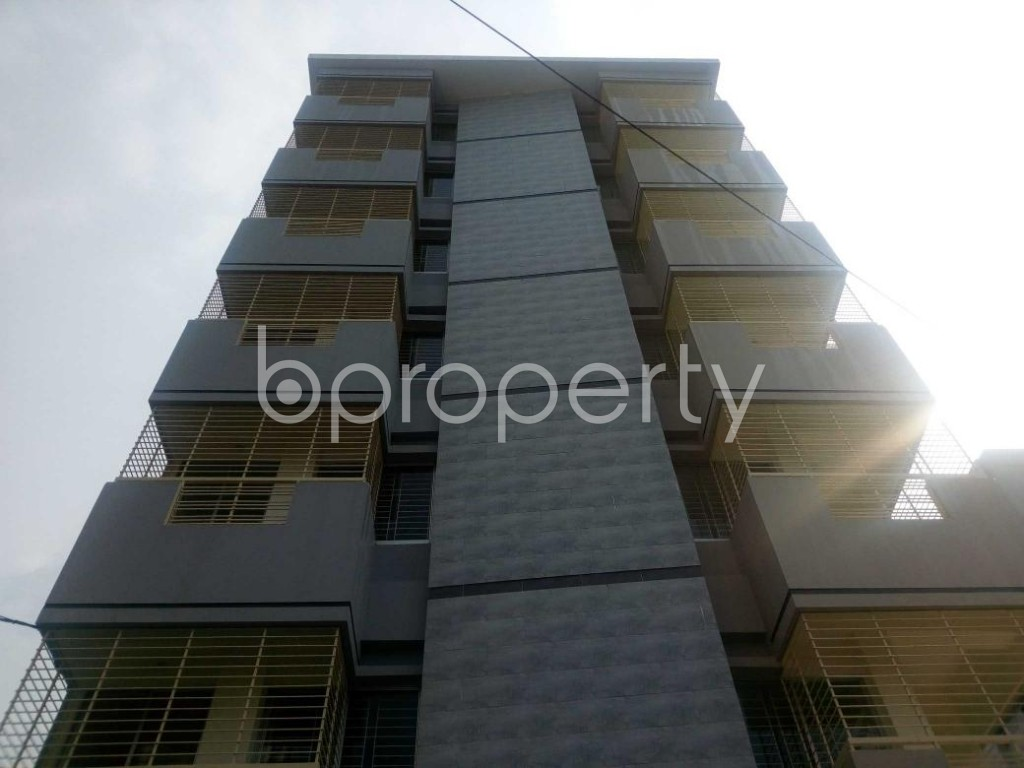 Front view - 3 Bed Apartment to Rent in Aftab Nagar, Dhaka - 1929375