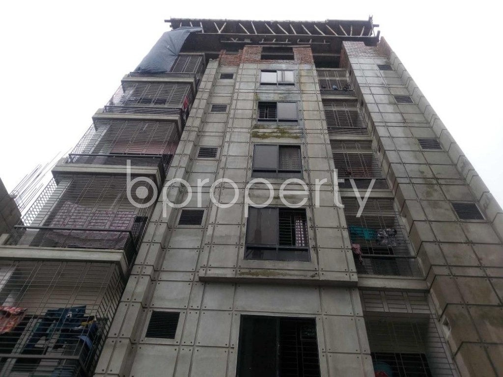 Front view - Office to Rent in Aftab Nagar, Dhaka - 1929376
