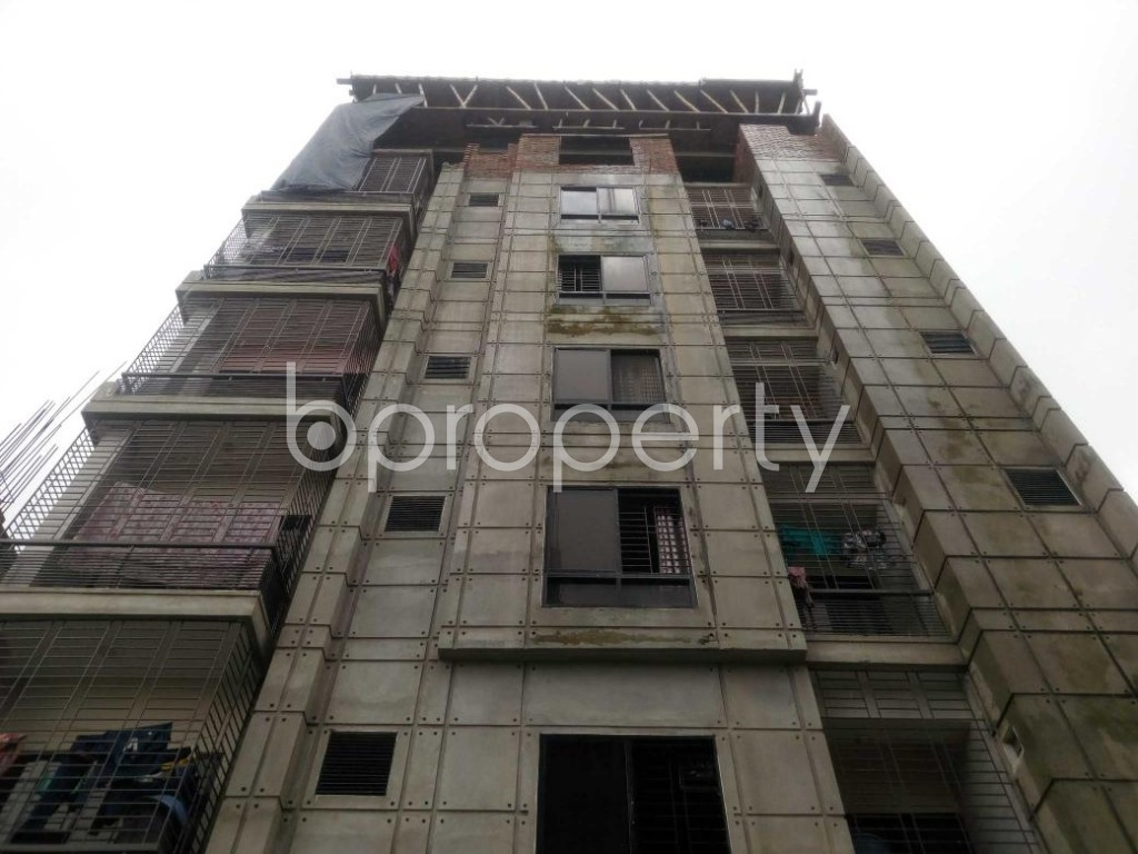 Front view - 2 Bed Apartment to Rent in Aftab Nagar, Dhaka - 1929377