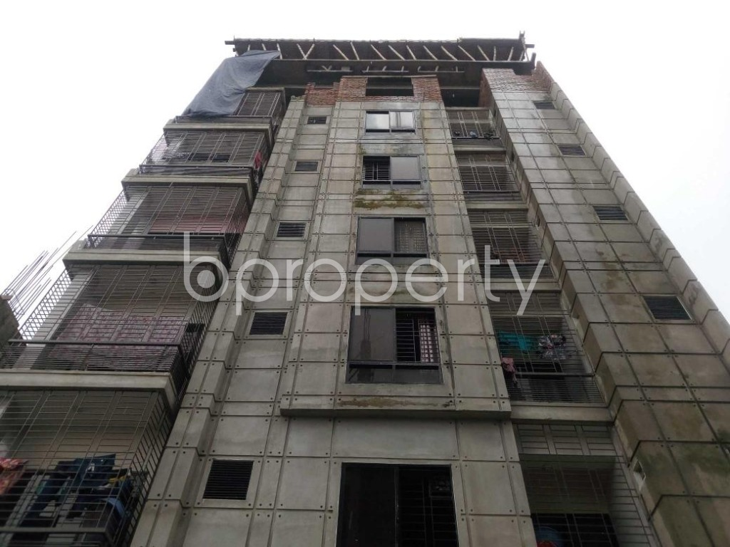 Front view - 2 Bed Apartment to Rent in Aftab Nagar, Dhaka - 1929378