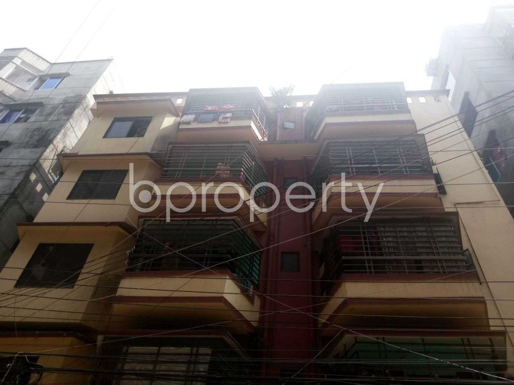 Front view - 1 Bed Apartment to Rent in Kalachandpur , Dhaka - 1929428