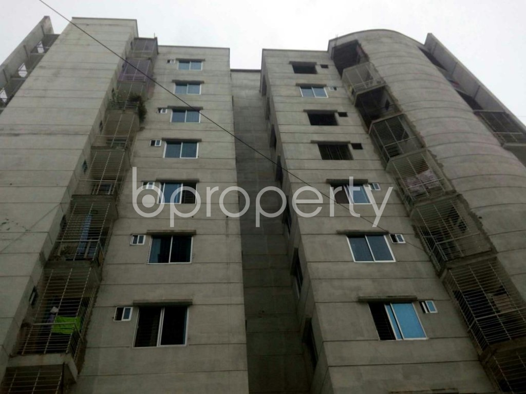 Front view - 3 Bed Apartment for Sale in Dakshin Khan, Dhaka - 1929557