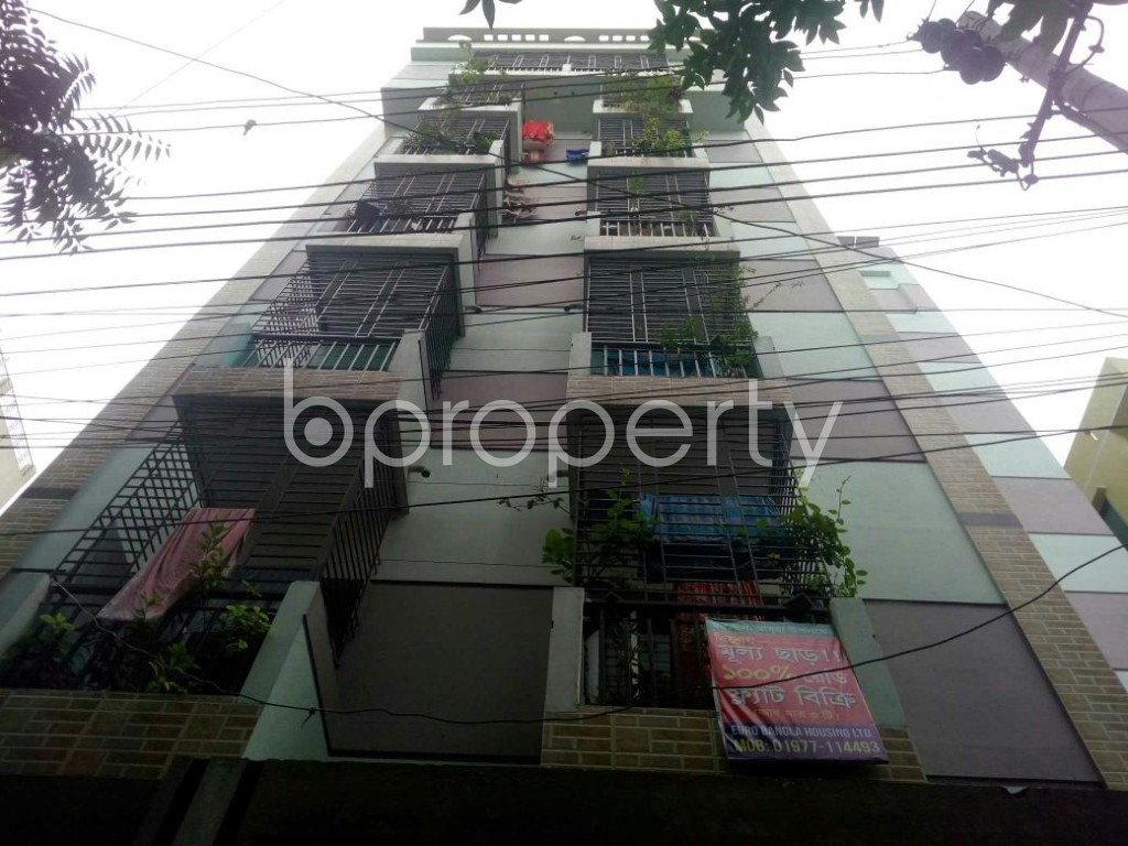 Front view - 3 Bed Apartment for Sale in Dakshin Khan, Dhaka - 1929590