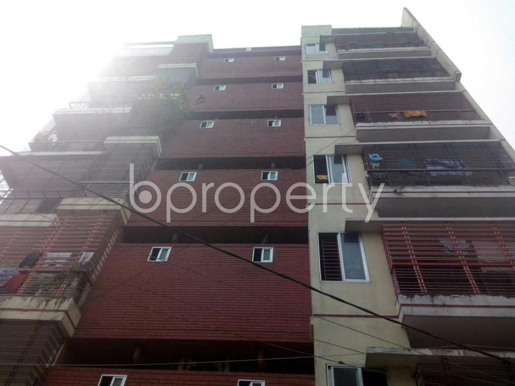 Front view - 3 Bed Apartment for Sale in Dakshin Khan, Dhaka - 1929623