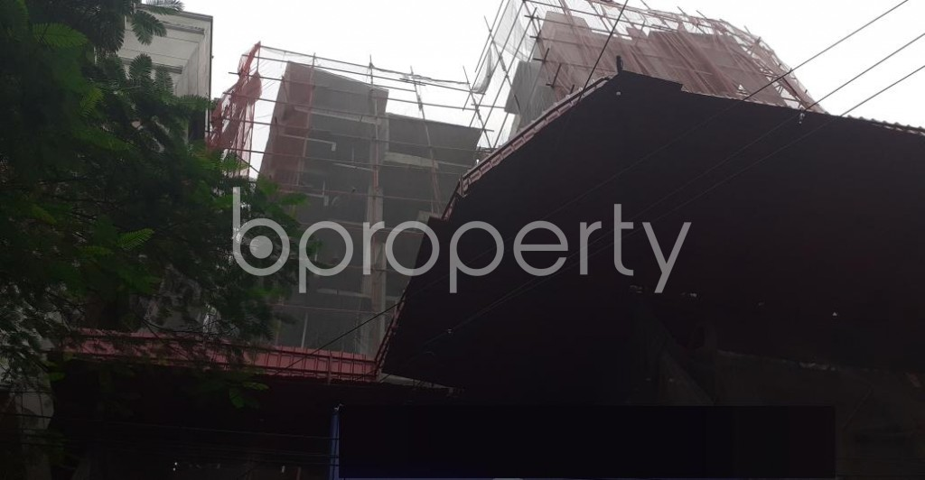 Front view - 3 Bed Apartment for Sale in Uttara, Dhaka - 1929823