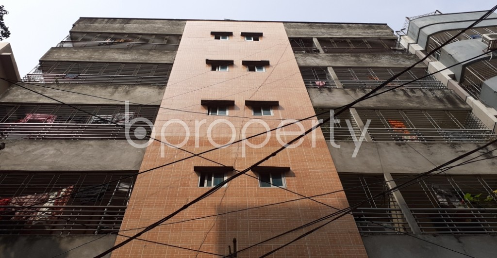 Front view - 3 Bed Apartment for Sale in Mohammadpur, Dhaka - 1929835