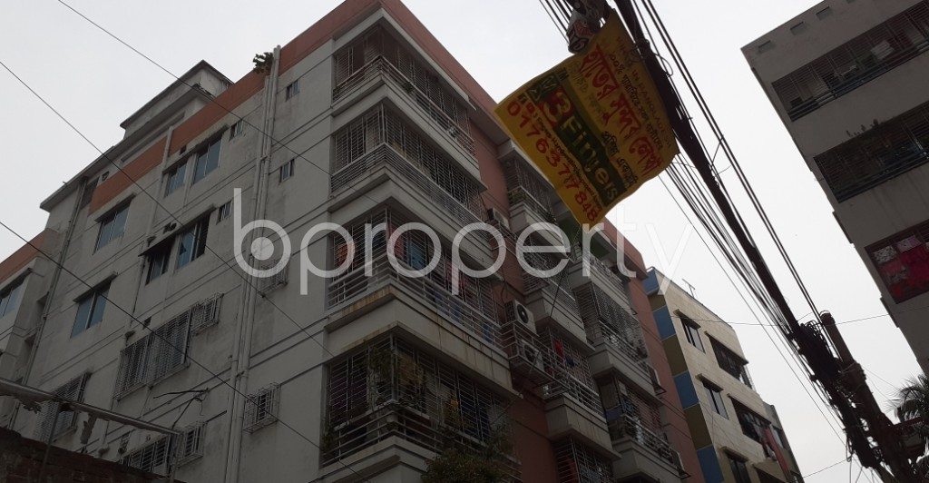 Outside view - 3 Bed Apartment to Rent in Dhanmondi, Dhaka - 1929965