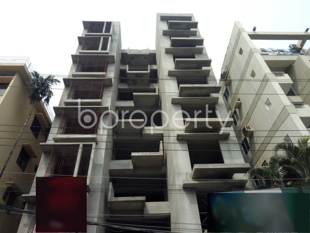 Front view - 3 Bed Apartment for Sale in Uttara, Dhaka - 1930027