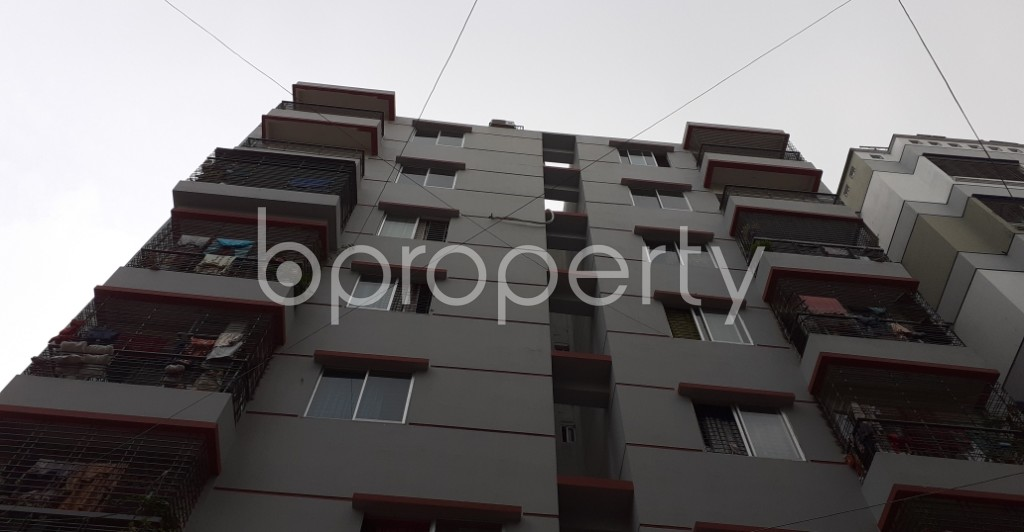 Front view - 3 Bed Apartment for Sale in Mirpur, Dhaka - 1930088