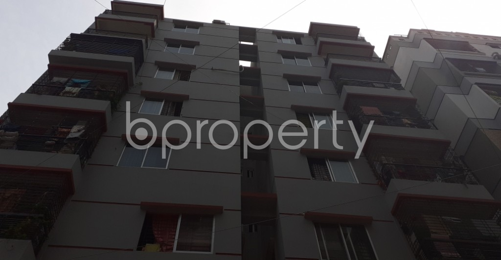 Front view - 3 Bed Apartment for Sale in Mirpur, Dhaka - 1930096
