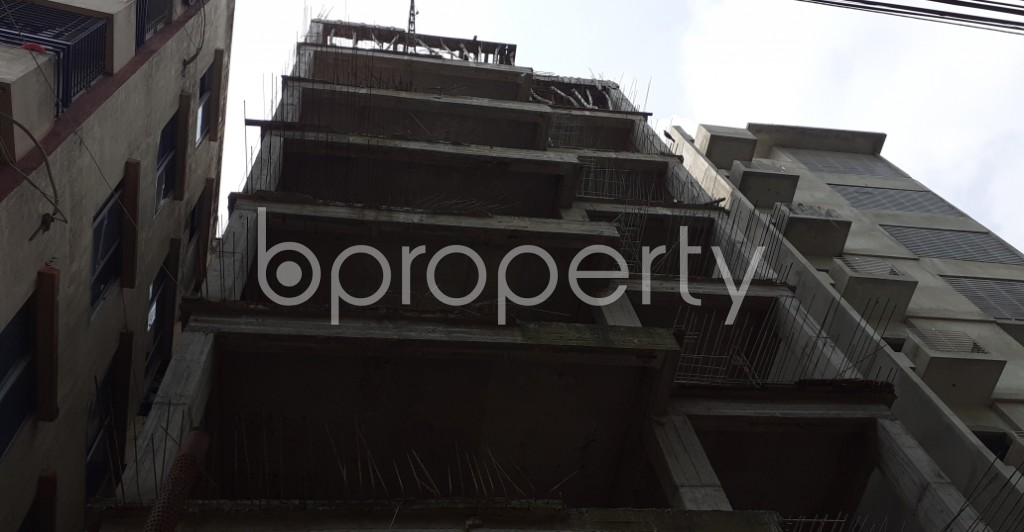 Front view - 3 Bed Apartment for Sale in Uttara, Dhaka - 1930194