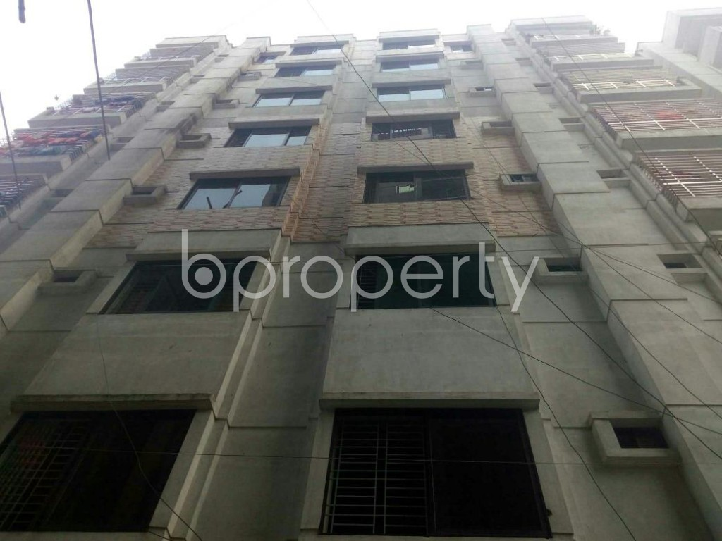 Front view - 3 Bed Apartment for Sale in Dakshin Khan, Dhaka - 1930229