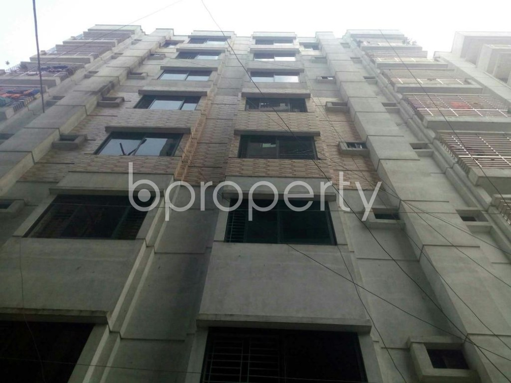 Front view - 3 Bed Apartment for Sale in Dakshin Khan, Dhaka - 1930231