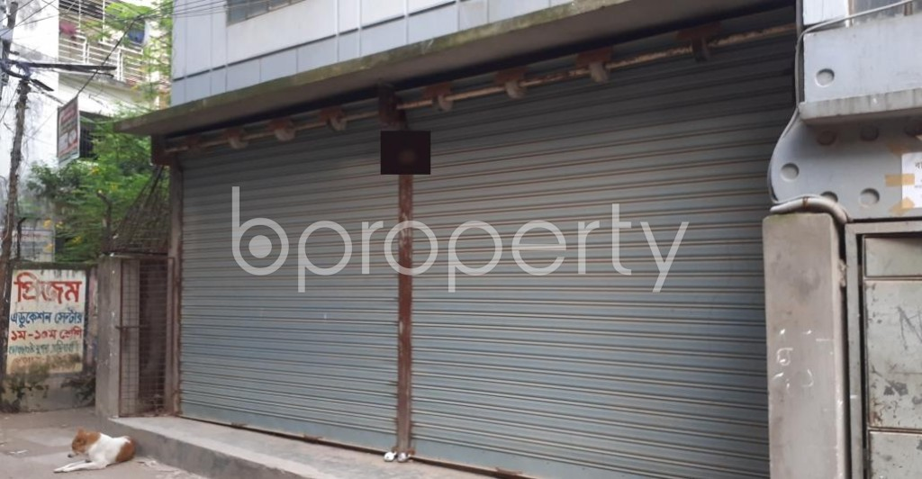 Front view - Shop to Rent in Bashabo, Dhaka - 1930264