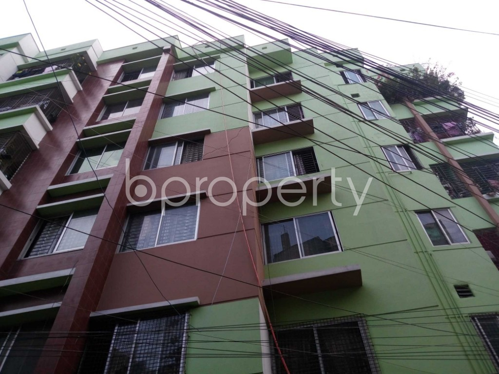 Front view - 2 Bed Apartment for Sale in Mirpur, Dhaka - 1930378
