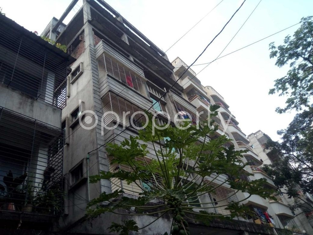 Front view - 1 Bed Apartment to Rent in Bashundhara R-A, Dhaka - 1930476